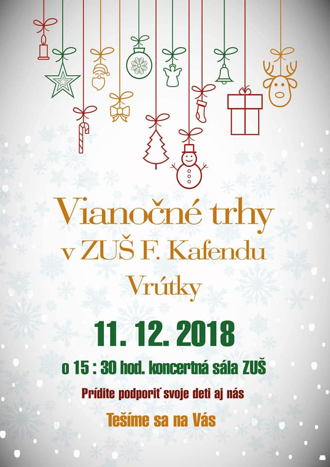 Read more about the article VIANOČNÉ TRHY